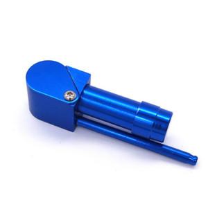 Proto pipa 86 mm de longitud portátil de metal desmontable Tubos última mano del tabaco de 4 colores Accesorios de malla de hierbas Ocultos Tazón Moda