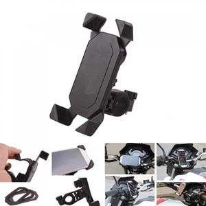 3.5-7.0 pulgadas teléfono GPS Soporte de montaje elástico para motocicleta moto Scooter CPA_302