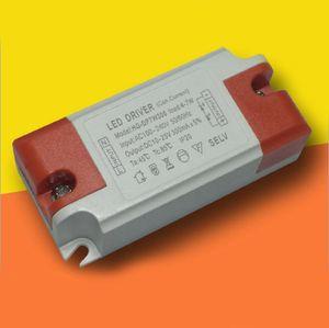 conducido reemplazo conductor 4-7W salida constante AC100-240V DC10-25V 300mA de corriente para el LED abajo se enciende el panel ligero con 3 años de garantía