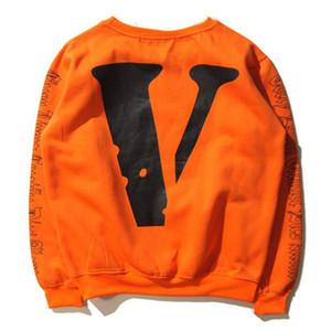 Sweat-shirts pour hommes Fashion Tide Brand Chemises à manches longues Skateboard Streetwear Casual V Hoodies imprimées pour hommes femmes