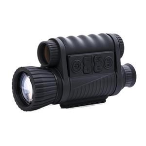 Télescope de vision nocturne numérique monoculaire 6x50mm télescope de vision nocturne IR 5MP caméra HD chasse de faune monoculaire en plein air