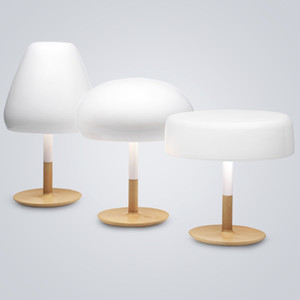 Vintage White Mushroom Table Light LED table Lamp Retro For Bedroom Living Room Bedside Home lighting TA046
