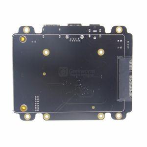 Livraison gratuite Raspberry Pi 3 Modèle B Carte d'extension de stockage SATA HDD / SSD Carte d'extension X820 USB 3.0 compatible avec les disques durs / SSD SATA de 2,5 pouces