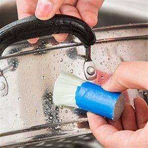 Sihirli Sopa Paslanmaz Çelik Dekontaminasyon Temizleme Fırçası Metal Pas Sökücü Temizleme Sopa Yıkama Fırçası Pot