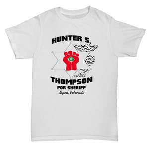 HUNTER S THOMPSON FEAR AND LOATHING TUMBLR CULT FILM MOVIE RETRO T Shirt New 2018 Cotton Short-Sleeve T-Shirt Cool Summer Tees
