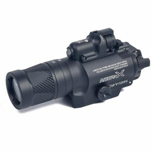 Costante tattico X400V pistola luce combinata laser rosso / Output momentaneo / Strobe pistola del fucile Torcia