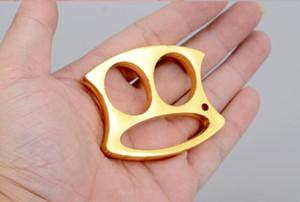 Novo Keychain Engrossar Quatro dedos dedo tigre Outdoor night travel ferramenta de defesa pessoal Luvas de proteção engrenagem