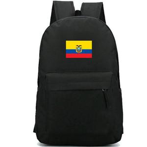 الإكوادور حقيبة الظهر الجمهورية ecu daypack الأصفر الأزرق الأحمر العلم المدرسية banner rucksack الرياضة حقيبة مدرسية في الهواء الطلق