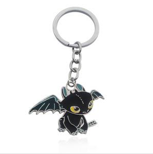 Беззубое Key Chain Как приручить дракона 2 любителей кино Маленький монстр Кольца для ключей