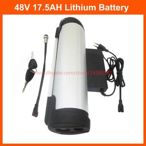 750W 48V 18Ah Su Şişesi pil 48V 17.5AH Elektrikli Bisiklet Lityum Batarya 20A BMS 54.6V 2A Şarj 35E 3500mah hücresi kullanımı