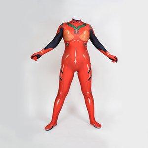 Изготовленный на заказ Neon Genesis Evangelion EVA Soryu Asuka Langley косплей костюм
