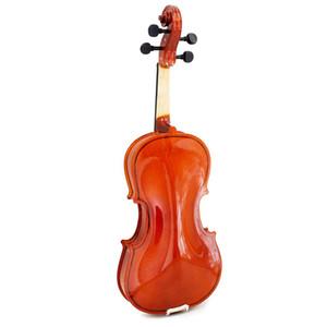 1/4 Größe Violine Geige Basswood Stahlsaite Arbor Bow für 6-8 Anfänger P2X1