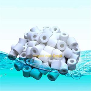 300G / 500G Acquario Bio anelli in ceramica Fish Tank Aquaponics Pond Marine Barattolo Filter Media ceramica biofiltro Anelli Clear Water