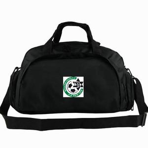 Maccabi Hayfa spor çantası Kiryat Eliezer tote İsrail futbol kulübü sırt çantası Futbol rozeti bagaj Spor omuz duffle Açık sling paketi