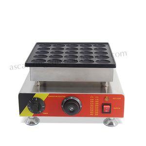 Paslanmaz Çelik Yapışmaz Poffertjes-Izgara 25 Adet Hollanda Mini Pancake Maker Waffle Baker 220 V 110 V CE Yepyeni