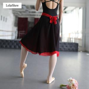 Ballet Performance Jupes Ballet Lyrical Dress Sexy Femmes Dancewear Party Costumes Hot Leotard Dance Dress