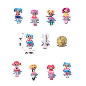 Lalaoopsy Belle Ange Cartoon PVC Broches Kawaii Badges Pins Vêtements / Sac / Chapeau / Chaussures Accessoire Décor À La Maison DIY Graft Enfants Favor Partie Cadeau