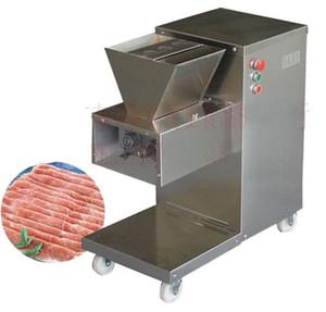 800KG / H 2.5mm-25mm sur mesure Lame 110v 220v électrique Heavy Duty restaurant viande Dicer Dicing machine