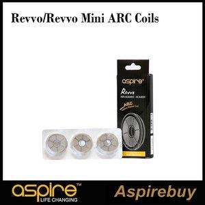 Aspire Revolo ARC Bobinas Revvo Mini ARC Bobinas Aspirar Bobina Radial para Revvo Tanque Mini Atomizador 0.10-0.16ohm 0.23-0.28ohm Novas Bobinas 100% Origina