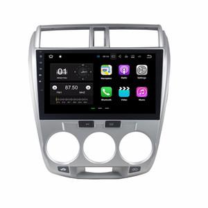 2 ГБ ROM Android 7.1 четырехъядерный автомобильный DVD автомобильный Радио DVD GPS мультимедийный проигрыватель для Honda City 2006-2013 с Bluetooth WiFi зеркало-ссылка DVR
