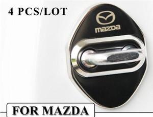 Авто стайлинг автомобиля дверной замок чехол для Mazda 3 6 2 cx3 cx5 cx7 323 замок двери автомобиля протектор-