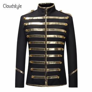 Cloudstyle 2018 осень весна блесток сценический костюм куртка мужчины платье партии костюм мода цифровая печать повседневная драма костюм Blazer