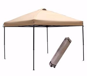 Grntamn pieghevole Gazebo,-up istantaneo portatile Canopy Tenda con Carry Bag - 10 x 10 ft Khaki
