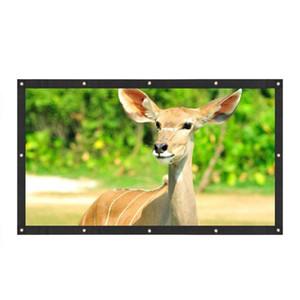 Projecteur de Toile de Haute Qualité Écran de Projection 16: 9 de 120 pouces pour XGIMI H1 H2 H1S Z6 Z3 JMGO J6S E8 UNIC UC40 UC46 Projeteur