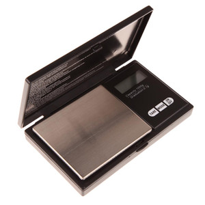1000 جرام x 0.1 جرام مقياس الجيب الرقمية للمجوهرات الذهب والفضة مقياس أدوات المطبخ قياس المقاوم للصدأ مقياس الجيب الإلكترونية