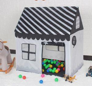 Play House В помещении и на открытом воздухе Легко складной Ocean Ball Pool Pit Game Tent Play Hut Девушки Сад Playhouse Дети Детская Игрушка Палатка