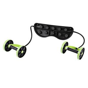Ab Roller Fitness Ausrüstung Ausstattung Bauchtrainer Trainer Puller Roller Abnehmen Muskeltrainer Workout-Tool-Widerstand-Bänder