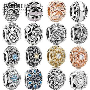 Fahmi 100% 925 Silver 1: 1 fascino Shimmering Assepoesters Wens Sentimenti dolci Openwork Sentimenti Shimmering Oriental Fan