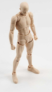 Male body female body movable hand model 065