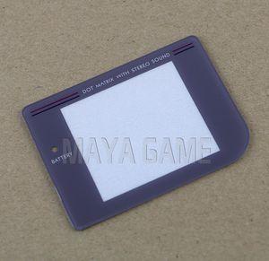 GameBoy GB 클래식 교체 스크린 용 새 플라스틱 쉘 보호 케이스 커버 스크린 렌즈