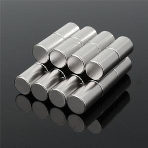 20pcs Neodym-Magnet N50 10mm x 15mm starke Seltenerd-runde Industriemagnete