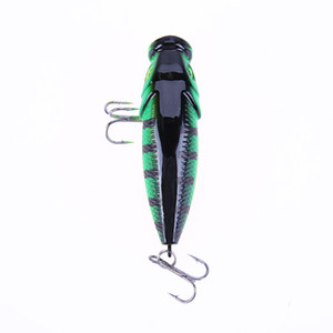 7.5cm 10g Luminous Minnow Shaped Fishing Lure Bait Fishing Tackle Hard Artificial Baits 3D Eyes #8 Hooks Fishing Lures Hot Sale