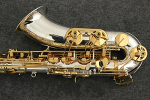 Strumenti di marca YANAGISAWA T-9930 Sassofono B Flat Tenore Bb Tubo placcato argento e chiave placcata oro con bocchino, custodia