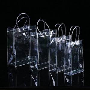 PVC Limpar bolsas saco de Presente Maquiagem Cosméticos Embalagem Universal de Plástico limpar sacos de 10 Tamanhos para escolher