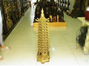 Wenchang 구리 층의 주요한 라이트 타워의 13 개 특별 제공 특대 타워 1 미터 Wenchang