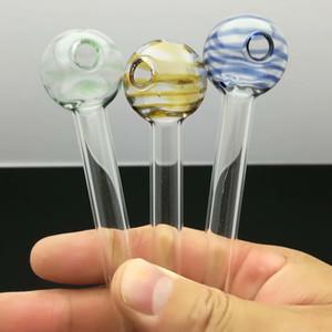 Цветные леденцы стекло прямой горшок стекло Бонг водопровод бонги трубы для некурящих аксессуары чаши