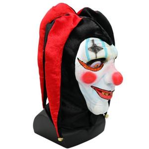 Fiamma della fiamma Halloween Camera dei segreti Fuga Bar Puntelli di ballo Latex Horror Spaventoso Clown Man Maschera di festa di Natale