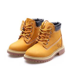 2020 Scarpe per bambini Ragazzi e ragazze Autunno e inverno New Snow Boots Stivali da neve per bambini Stivali da bambini First Layer Cowgirl Girls Warm Children's Boot