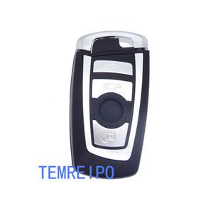 4 botão remtoe tampa da chave de controle para bm-w substituição do carro shell chave para bmw 1 2 3 4 5 6 7 série chave inteligente fob