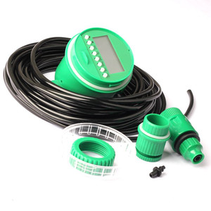 Green Durable Electronic Irrigation Timer Automatic Garden Irrigation Program Sprinkler Control Timer Home Set
