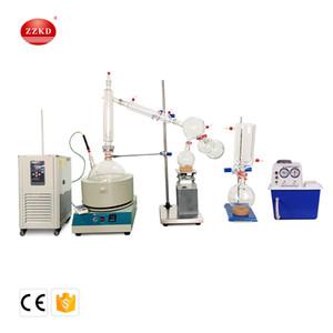 ZZKD 10000 mL 110V Kısa Yollu Distilasyon Standart Set w / Vakum Pompası Soğutucu