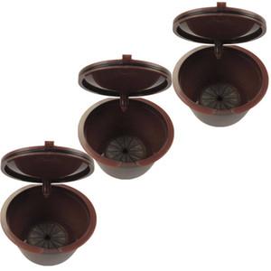 Verwenden Sie 150x Dolce Gusto Kaffeekapsel Plastikkapsel Nachfüllbar Wiederverwendbar Kompatibel mit Nescafe Dolce Gusto Nachfüllpackung 6pcs / pack