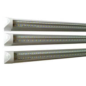 bulbo de la lámpara DC12V de baja tensión DC36V T8 LED Tubos imput ahorro de luces de tubo fluorescente DC24V V forma LED utilizado trabajo con batería de almacenamiento