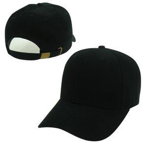 Mode leere Plain Strapback Caps schwarz weiß rosa rot Farben Hüte Männer Frauen Sport Snapback Sommer Sonnenblende Baseball Cap Hip Hop Hut