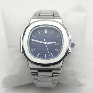2019 Novos Relógios impermeáveis Men fresco relógio de forma Relógios de pulso Sports Stainless Steel Quartz Calendário Mens Relógios presente