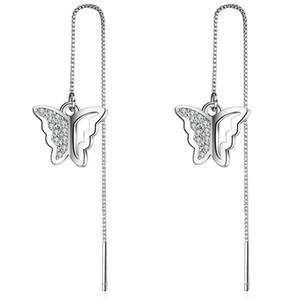 Eh167 Роуз позолоченные серьги Swarovski Аметист Кристалл серьги люстра мода серьги мотаться роскошный дизайнер серьги дизайнер Jewel
